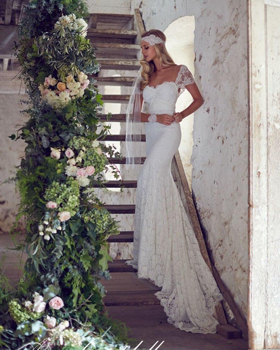 Vestidos de noiva cheap china bridal gowns rustic sexy for Boho wedding dress cheap