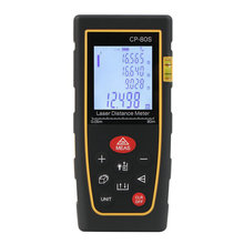 Cheap price Top Vendita 80 M Palmare Laser Digitale Tester di Distanza Range Finder Misura Distanziometro Telemetri