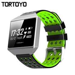 TORTOYO обновлен CK12 умный Браслет Графен ЭКГ Smartband крови кислородом давление сердечного ритма мониторы Bluetooth спортивные