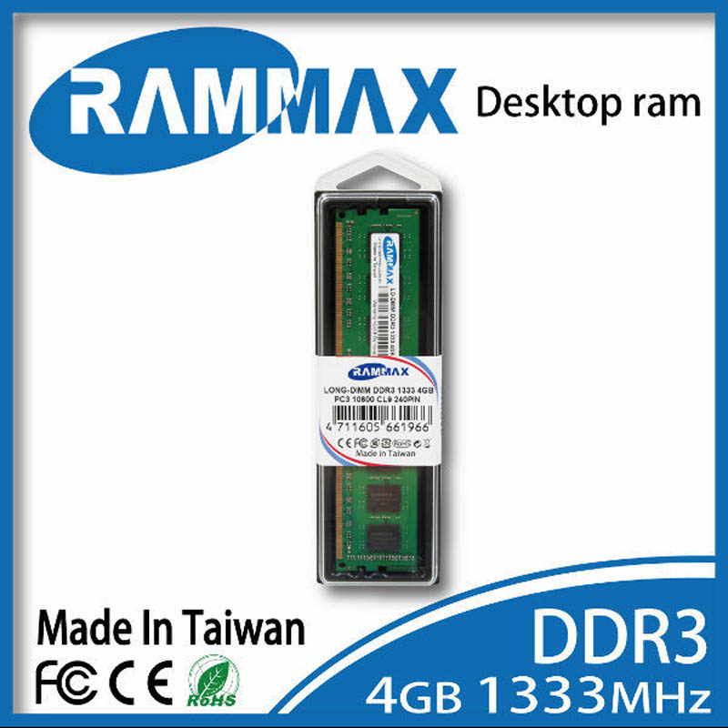 Desktop Ram Memory 4GB ddr3 LO-DIMM1333Mhz PC3-10600 240pin/ CL9/1.5V high compatible motherboard for PC Computer+Free Shipping samsung laptop memory ddr3 4gb 1333mhz pc3 10600s notebook ram 10600 4g