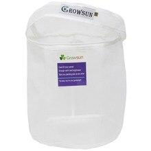 Growsun 5 галлонов 220 микрон молнии мешок для извлечения стиральной машины-травяной экстрактор прочный фильтр мешок
