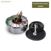 300VA NAP200 Power amplifier OFC Pure copper toroidal transformer 300W AC 28V 0 28V+28V 0 28V Accept custom voltage