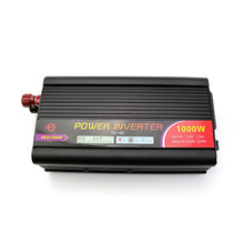 Car Inverter 1000W Modified Sine Wave DC 12V to AC 110V 220V Car Charger Power Inverter Converter Portable Power Inverter very beautiful power inverter dc 12v to 220v ac car inverter outlets with usb port charger travel portable converter for laptop