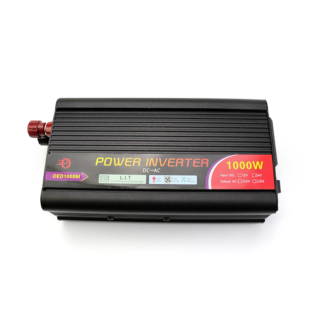 Car <font><b>Inverter</b></font> <font><b>1000W</b></font> Modified Sine Wave DC <font><b>12V</b></font> to AC 110V 220V Car Charger Power <font><b>Inverter</b></font> Converter Portable Power <font><b>Inverter</b></font> image