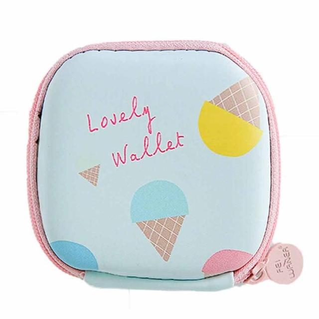 Famous Desig Hot Coin Purse Women Girl Cute Cartoon Mini Wallet Bag Zipper porte Mini Bag feuille femme carte monnaie