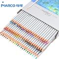 Lápiz de Color Marco 72 unids lapis de cor Profesional Sin Plomo no tóxicos de Colores Material Escolar Pencil Pintura lápices