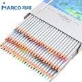 Marco 72 pcs Lápis de Cor lápis de cor Profissional Não-tóxico Lead-free Material Escolar Lápis de cor Pintura lápis