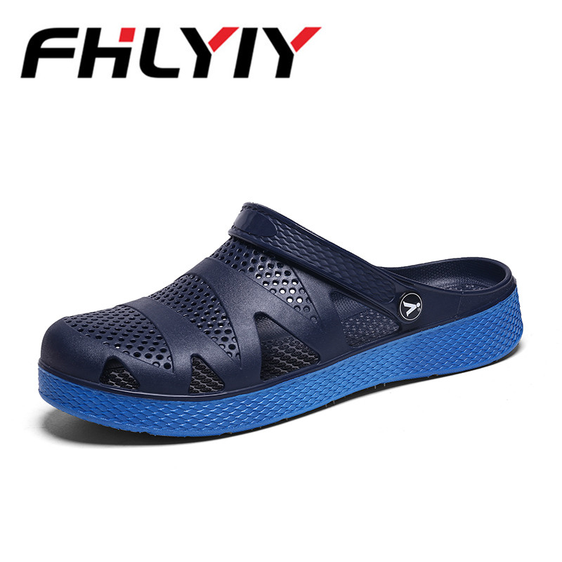 Men Sandals Summer Slippers Shoes Croc Casual Beach Sandal Fashion Flat Slip on Flip Flops Men Hollow Shoes Outdoor Sandal Shoes women sandals summer slippers croc shoes fashion beach sandals casual flat slip on flip flops female hollow outdoor shoes women