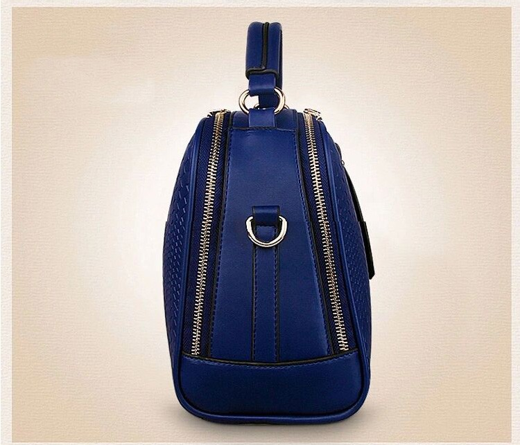 2015 Autumn New Arrival Women Weave Tassel Women PU Leather Handbags Women Shoulder Bag Ladies Casual Messenger Bags BH1150 (11)