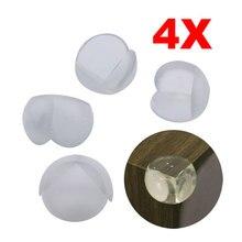 4 для детей; защитные, резиновые Угловые протекторы для стола F1