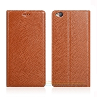 Invisible Magnet Genuine Leather Case For ZTE Nubia M2 Lite 5 5 Luxury Mobile Phone Flip