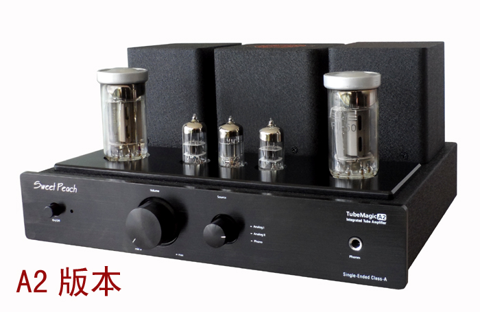 2017 NEW Black XiangSheng Sweet Peach SP-FU50 Single-Ended Tube Amplifier MM Phono Tube Amp сумка coccinelle coccinelle co238bwdrjc0