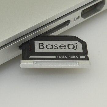 103A Original BASEQI Aluminum MiniDrive Micro SD Card Adapter Card Reader  For Macbook Air 13''