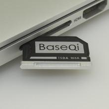 103A Оригинальный BASEQI Алюминиевый MiniDrive Карта Micro Sd Card Адаптер Reader Для Macbook Air 13»