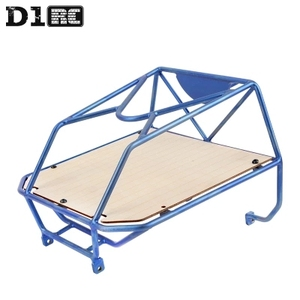 Image 2 - D1RC Original High Quality Metal Bucket Roll Cage back cage For Axial AX80046 SCX10 AX90022 Crawler RC