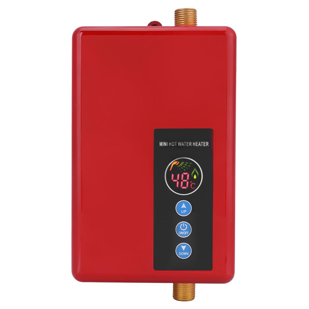 5500w Mini Instant Electric Tankless Water Heater Fast 3