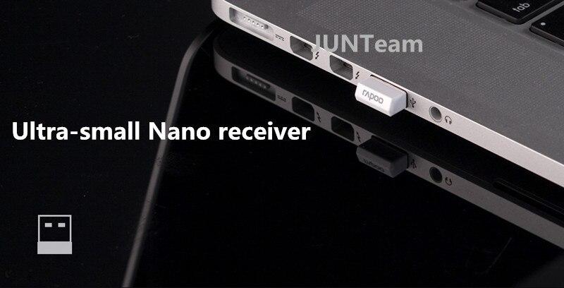 מקורי Rapoo 9300P מתכת דקה Ultra 5G אופטי מקלדת ועכבר אלחוטיים Combos עבור המחשב הנייד משחקים בבית מקלדת עכבר