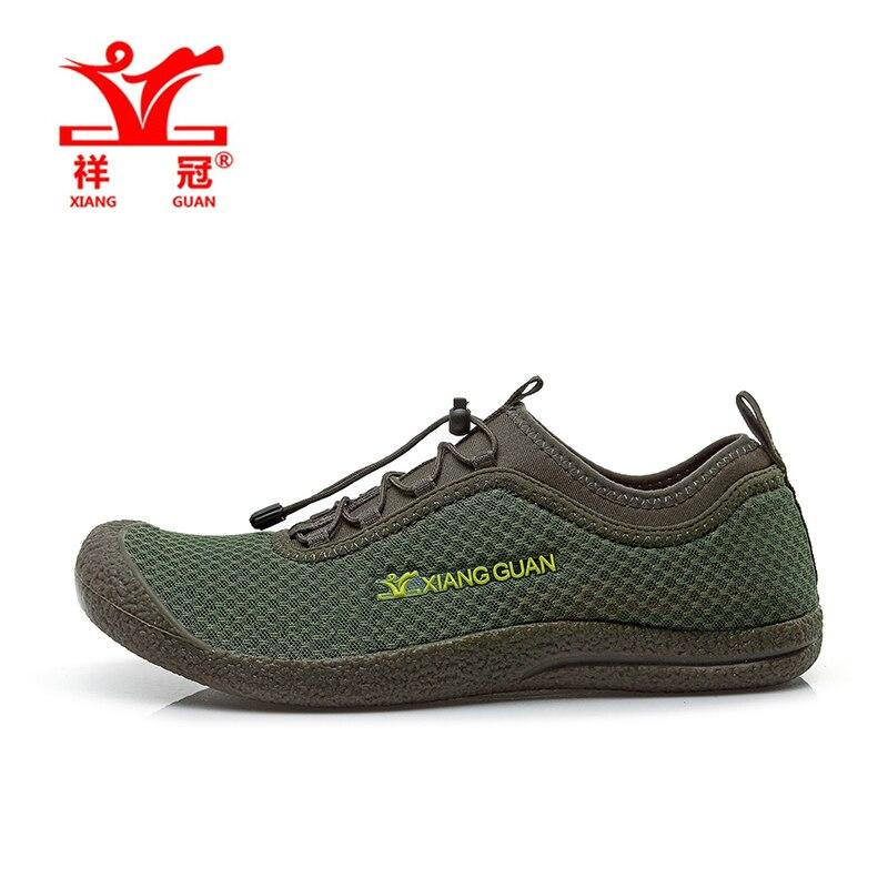 XIANG GUAN Mens Sports Summer Outdoor Hiking Shoes Sneakers For Men Sport Climbing Mountain Trekking Shoes Sneaker Man michael kors runway mk2273