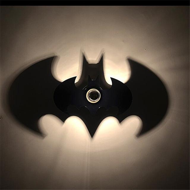 Hot sale wood black batman shadow led wall light e27 for bedroom hot sale wood black batman shadow led wall light e27 for bedroom wall sconce night light aloadofball Images