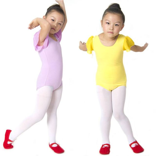 51383694213f dance costume Girl Gymnastics Dance Leotard Clothing Dress Kid ...