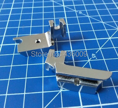 Household Sewing Machine Parts Presser Foot Welting Foot Low Shank Piping Foot #40986 -1/4