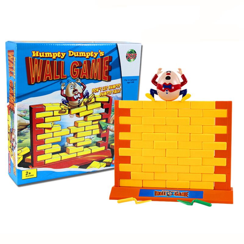 creative wall destroy game humpty dumpty wall board game cube intelligent interactive play game. Black Bedroom Furniture Sets. Home Design Ideas