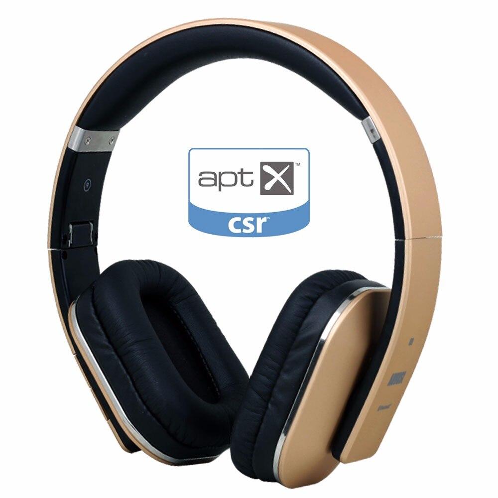 Августа EP650 Беспроводной Bluetooth наушники с микрофоном 3,5 мм аудио в проводной или Беспроводной стерео гарнитура для ТВ, ПК смартфон
