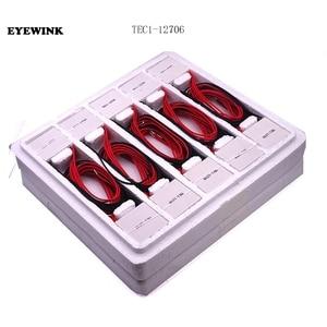 Image 2 - 60 sztuk TEC1 12705 moduł peltiera do chłodzenia termoelektrycznego TEC1 12706 TEC1 12704 TEC1 12710 TEC1 12715 40*40MM 12V peltiera Elemente moduł