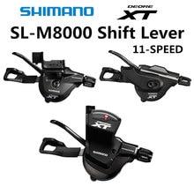 SHIMANO Deore XT SL M8000 shifter RAPIDFIRE Plus Shiftr Lever M8000 Shiftr Lever 11 speed 2x11 3x11 speed M8000 I spec II