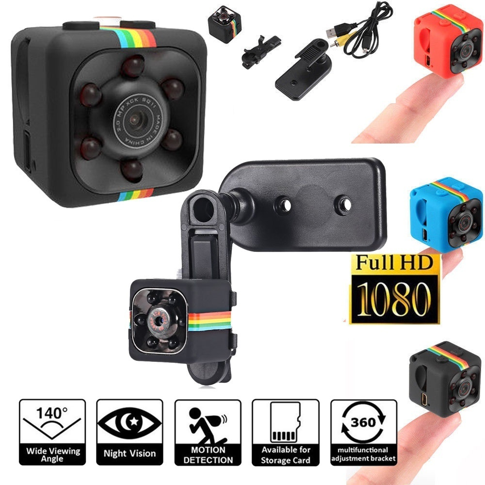 High Quality Mini Camera  HD Camcorder HD Infrared Night Vision Mini Camera 1080P Aerial Sports Mini DV Voice Video Recorder