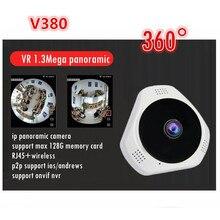 Ip-панорамные камеры wi-fi VR 360 для беспроводного смарт-телефон поддержка карт памяти sd v380