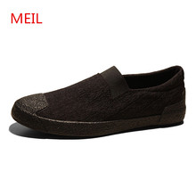2018 Spring Summer Casual Canvas Shoes Men Breathable chaussure homme Male Slip On Footwear loafers designer men casual shoes men canvas flats shoes summer breathable casual sneakers male slip on solid comfortable loafers chaussure homme