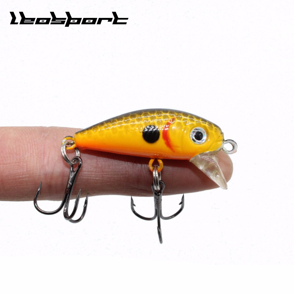 Wobblers Jerkbait 10 Colors 4cm 3.2g Hard Bait Small Minnow Crank Fishing Lures Bass Fresh Salt Water Tackle Sinking Lure Mini