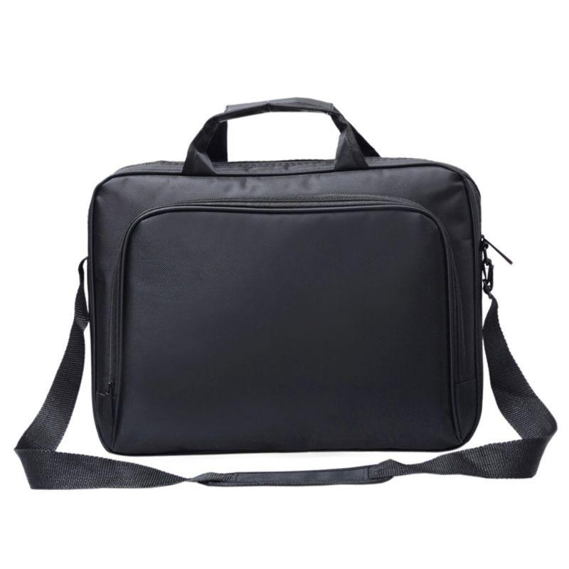 Unisex Nylon Material New Briefcase Bag 15.6 Inch Laptop Messenger Bag Business Office Bag For Men Women