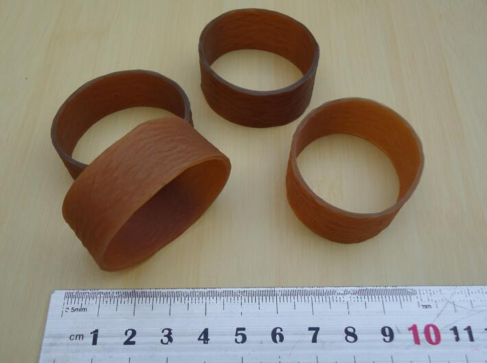 Strong Heavy Duty Brown Wide Elastic Rubber Band For Industrial Business Packaging Packing 10/30/50pcs You Choose Quantity