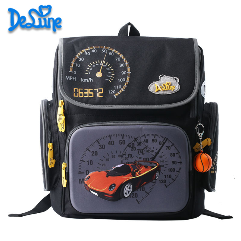 ФОТО 2016 New Russia Style Orthopedic School bags For Boys Car Ultralight Waterproof Backpack Child Kids School bag bolsa feminina