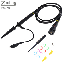 P4250 High Voltage Oscilloscope Probe 2KV 100 1 250MHz Alligator Clip Test Probe for Electronic Measuring