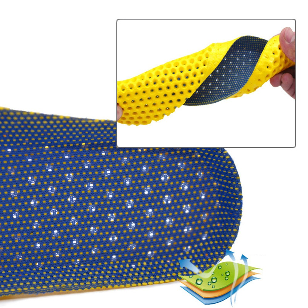 1Pair Thick Shoe Insole Orthotic Shoes Accessories Insoles Orthopedic Memory Foam Sport Safety Arch Support Insert Pad Woman Men