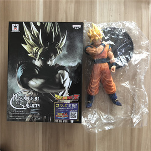 Image 5 - Dragon Ball Z Goku Super SaiYan Awakening Gohan Father Trunks Vegeta PVC Anime Figure DBZ Collection Model 23cm