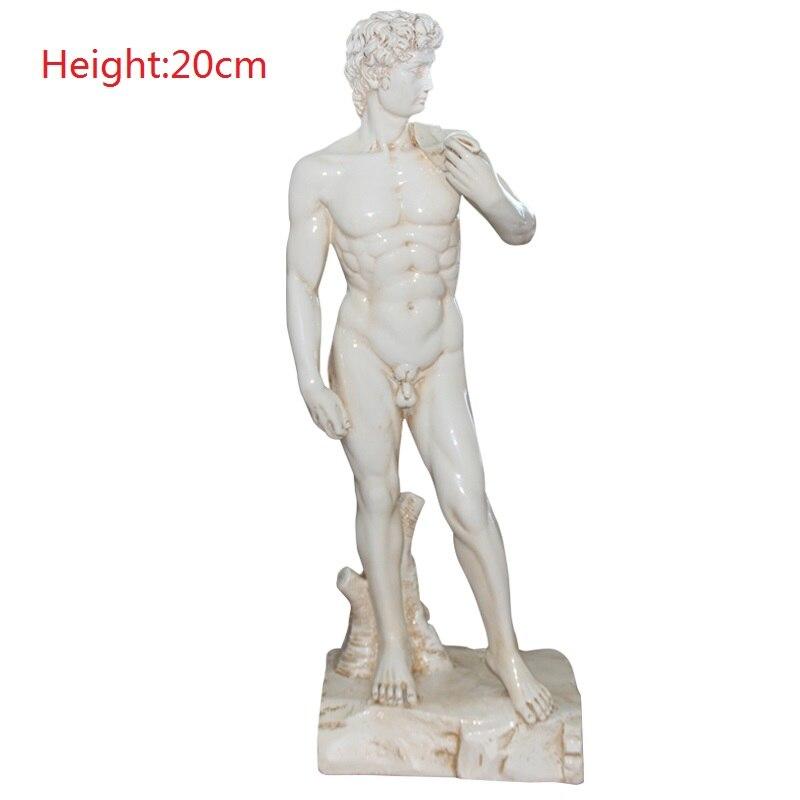 David Statue Figurines Michelangelo Buonarroti Art Sculpture Resin Art&Craft Home Decoration Accessories Gift R905