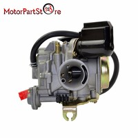 50CC Scooter Carburetor Moped Carb for 4 Stroke GY6 SUNL ROKETA JCL D10
