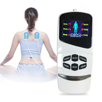 Voice TENS Unit Electronic Pulse Acupuncture Machine 6 modes LED Muscle Stimulator Full Body Relax Muscle Therapy Body Massager