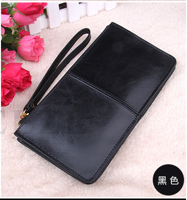 Drop Price New Arrival Fashion Genuine Leather Solid Handbags Women's Day Clutches Bags Card Protector Quality Brand HB294