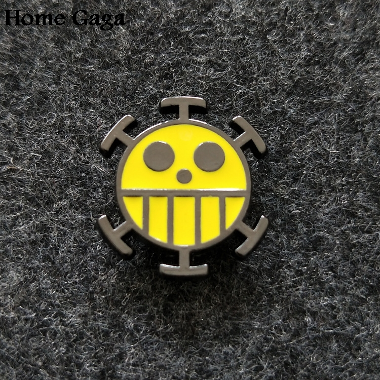 Intelligent Homegaga One Piece Diy Zinc Tie Cartoon Funny Pins Backpack Clothes Brooches For Men Women Hat Decoration Badges Medals D1450 Home & Garden