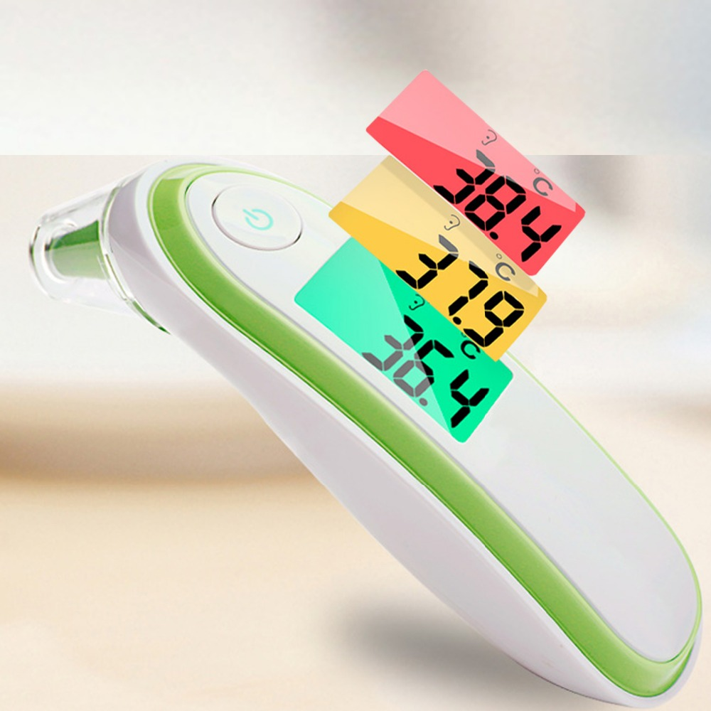 Mother & Kids Shujin Medical Ear Infrared Thermometer Adult Baby Body Fever Temperature Measurement High Accurate Family Health Care Thermometers