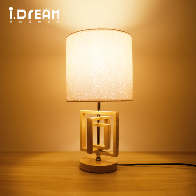 IDERAN Wooden Lights Desk Lamps Table Lamps Indoor Light Modern Latest  Design Flexible Memory Function Color