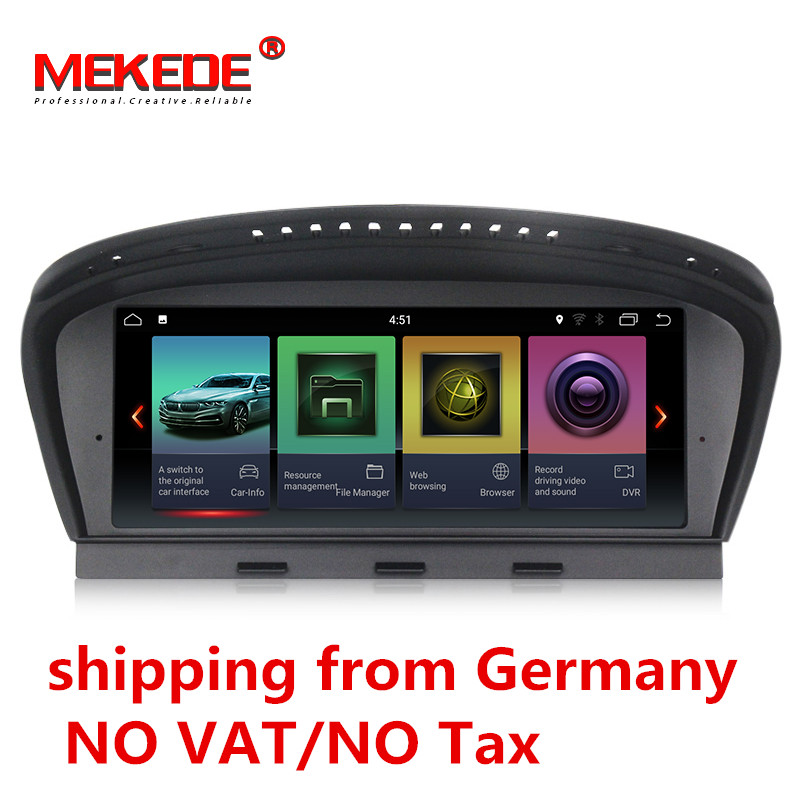 Германия склад ID7 2G + 32G Android 7,1 автомобилей Радио мультимедийный плеер для BMW 5 серии E60 E61 E63 E64 E90 E91 E92 CCC CIC системы