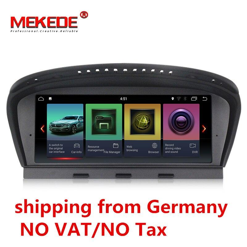 Alemanha armazém ID7 32 2G + G Android 7.1 rádio car multimedia player para BMW Série 5 E60 E61 e63 E64 E90 E91 E92 CCC CIC sistema