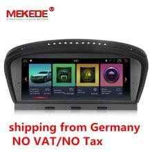 Germania magazzino ID7 2G + 32G Android 7.1 radiofonico auto lettore multimediale per BMW 5 Serie E60 E61 e63 E64 E90 E91 E92 CCC CIC sistema