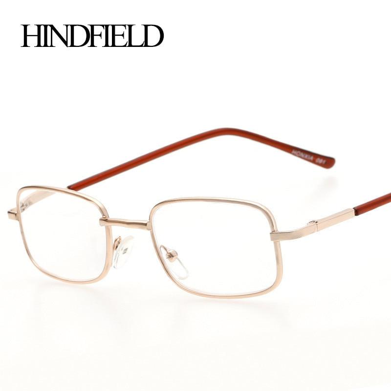 0d1e85606c Best buy 2016 Metal Reading Glasses Women Men Prescription lenses  +100